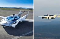 Karşınızda Uçan Araba Reklamı – Dünyada Resmen Bir İlk!