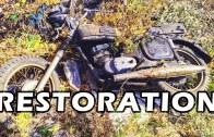 Russian Jawa Restorasyonu – Terk Edilmiş Motor