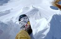 Alaska Dağlarından Adrenalini Yüksek Snowboard Şovu