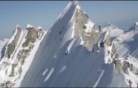 Nefesinizi Tutarak İzleyeceğiniz Yamaç Kayağı Şovu