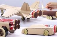 Binlerce Kibrit ile Yapılmış Olan Jet Araç Gösterileri