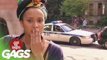 En Fazla Güldüren Aptal Polis Şakaları Karşınızda!
