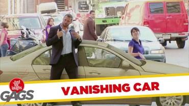 İzlerken Gülmekten Yarılacağınız Sahte Araba Şakası