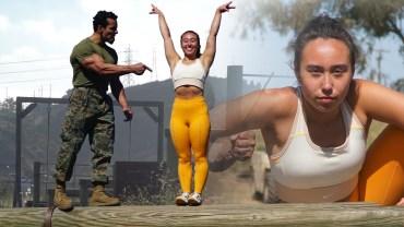 Jimnastikçi Katelyn Ohashi ve Zorlu ABD Denizci Parkuru