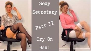 Valentina'dan Ofisi Yakıp Kavuracak Seksi Kıyafet Şovu