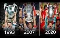 1993'ten 2020'ye Olan UEFA Şampiyonlar Ligi Finalleri