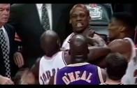 Shaquille O'Neal vs Dennis Rodman – Kızışan Anlar!