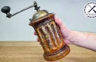 Antika İtalyan Kahve Değirmeni Restorasyonu Karşınızda