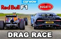 F1 ve Bugatti Chiron Kısa Mesafe Yarışı Karşınızda!
