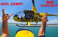 Helikopterden Denize Mükemmel Atlayışlar Karşınızda!