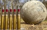Müthiş Keskin Nişancı Silahı ile Betonu Delen Atışlar