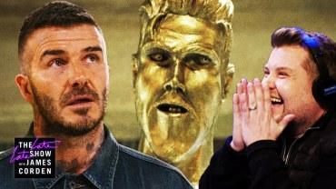 David Beckham'ı Kışkırtan Heykel Şakası Karşınızda!