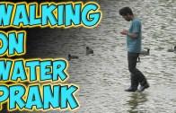 Şaşkınlık Yaratan Su Üstünde Yürüme Şakası Karşınızda!