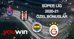 Youwin Süper Lig'e özel bonuslar.