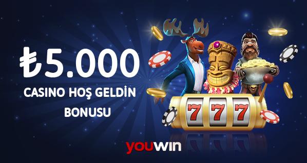 Youwin casino üyelik bonusu.
