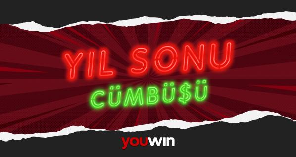 Youwin yıl sonu cümbüşü bonusu.