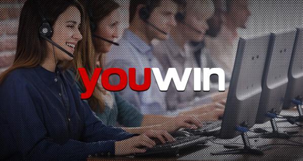 Youwin canlı destek hizmeti.