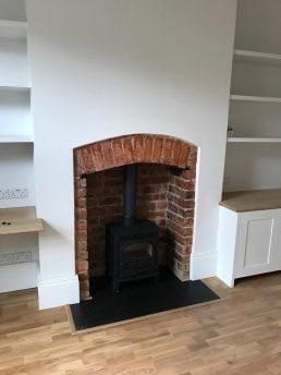 Lounge Original Fireplace