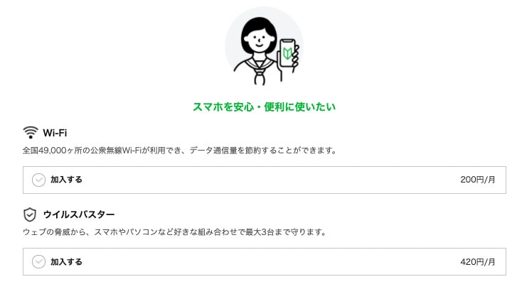 LINEモバイル-WiFi