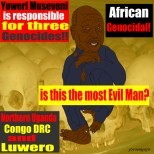 Criminal Yoweri Museveni