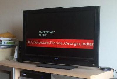 Emergency Alert - March 31, 2015