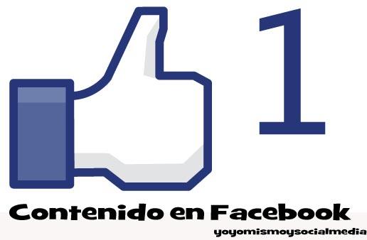 Generar contenido en Redes Sociales. Facebook (1/4)