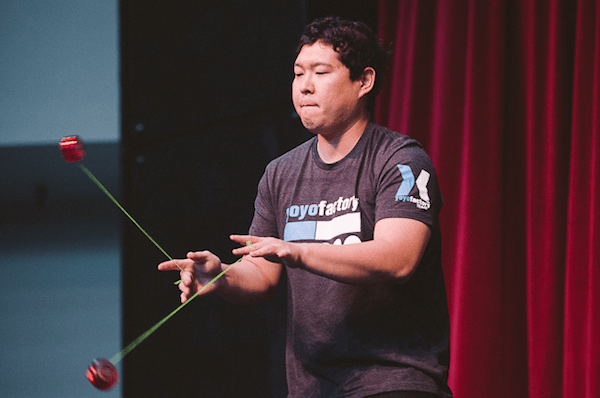 Ryan Lai at PNWR YoYo Contest