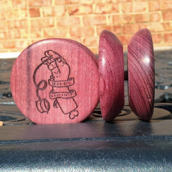 Hildy Brothers Currier Wooden YoYo