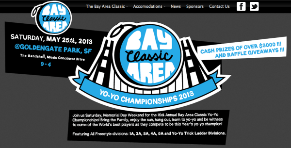 2013 Bay Area Classic YoYo Contest