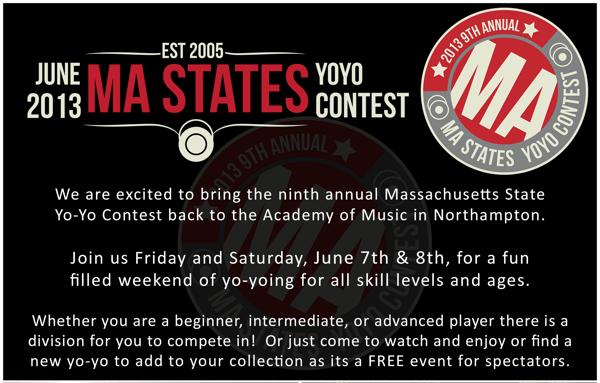 2013 Mass State YoYo Contest