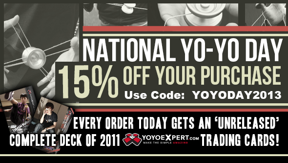 YoYoExpert National YoYo Day Sale