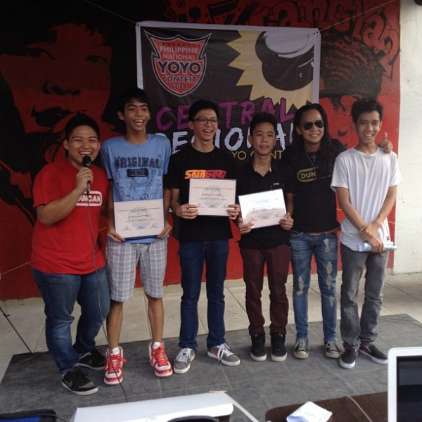 2013 Philippine Central Regaional Yoyo Contest 2A Division Winners