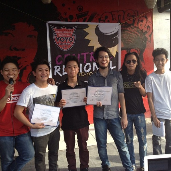 2013 Philippine Central Regional YoYo Contest 5A Division Winners