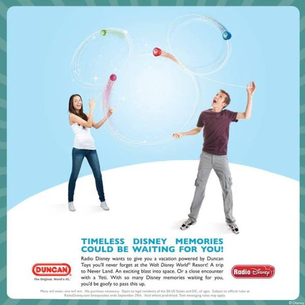Duncan Toys Radio Disney Sweepstakes