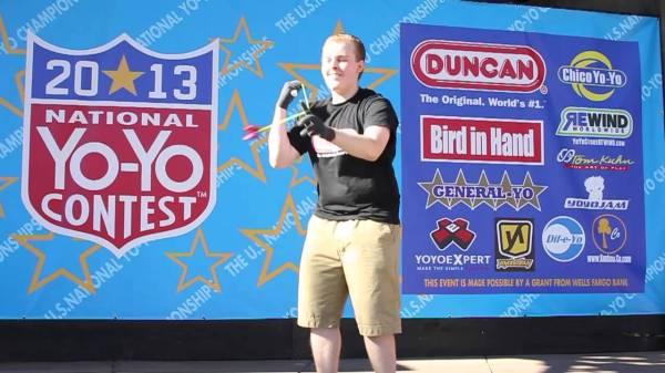 2013 US National YoYo Contest Jake Elliot