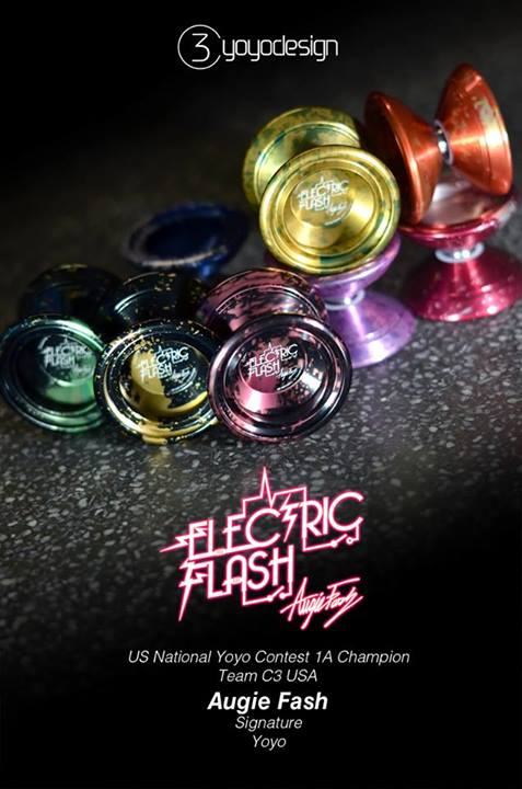 C3yoyodesign Electric Flash Augie Fash