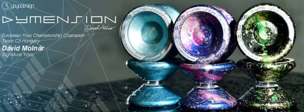 C3YoYoDesign Dymension - David Molnar Signature