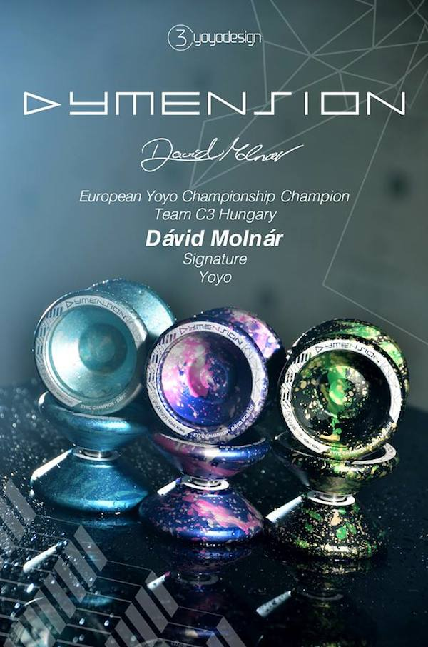 C3YoYoDesign Dymension - David Molnar Signature YoYo