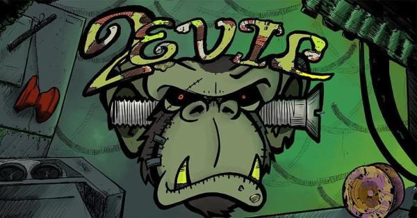 Monkeyfinger 2Evil logo