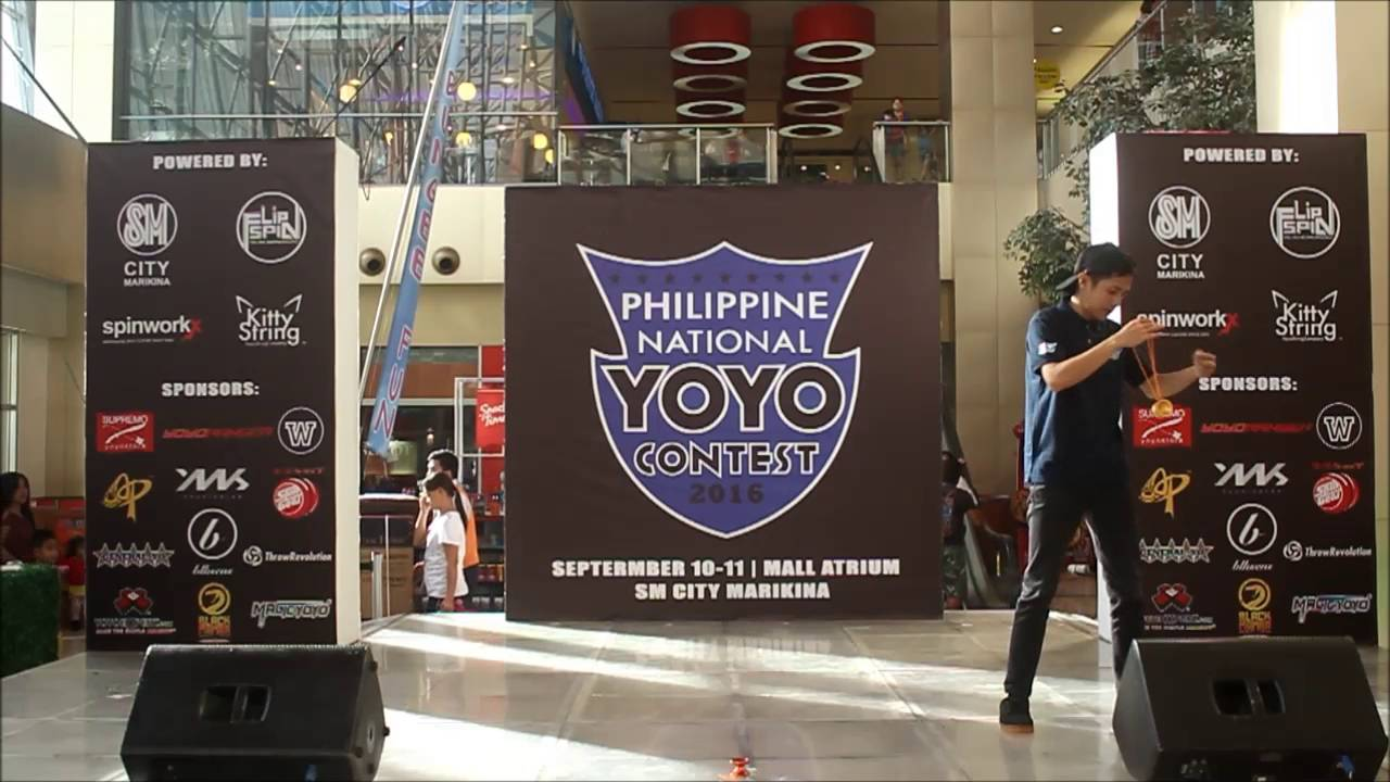 2016 Philippine National YoYo Contest Results & Video
