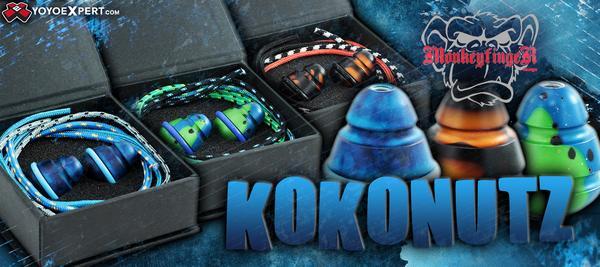 Monkeyfinger Design Kokonutz begleri beads