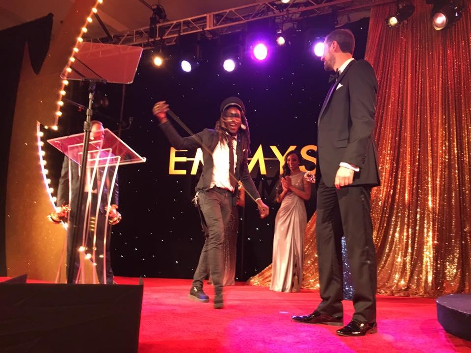 THROW Wins Emmy