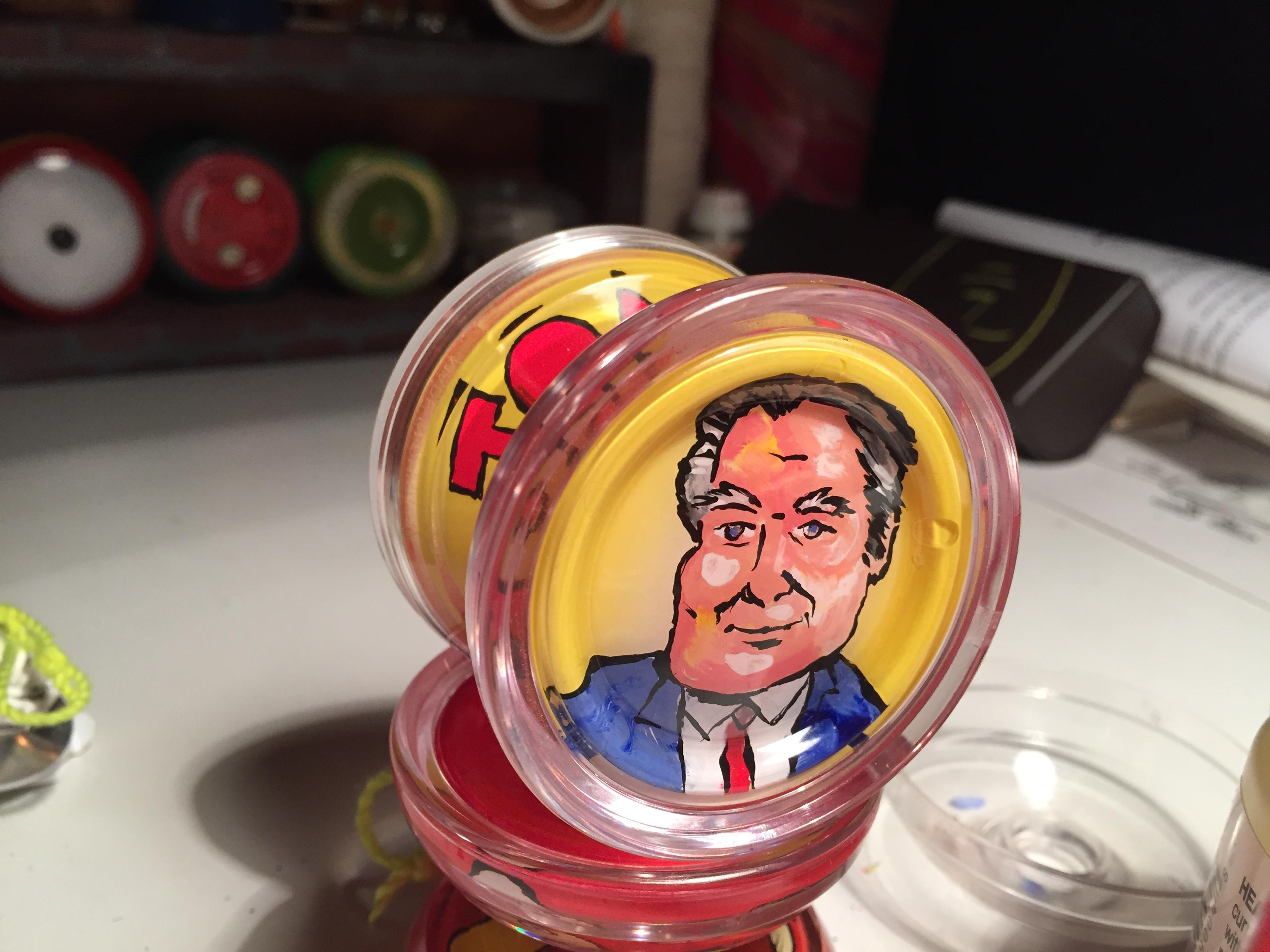 Tommy Maitland custom yoyo by John Higby