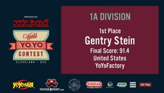 2019 World YoYo Contest – 1A Results