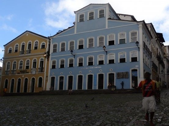 Centre historique de Salvador de Bahia inscrit à l'Unesco photo blog voyage tour du monde travel https://yoytourdumonde.fr
