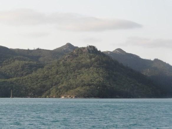 Australie- Whitsunday: Et nous passons la premiere nuit ici. Demain, rendez vous avec l'une des plus belles plages du monde.
