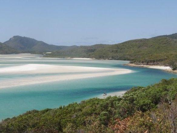 Australie- Whitsunday: Toujours la 2eme plus belle plage du monde...