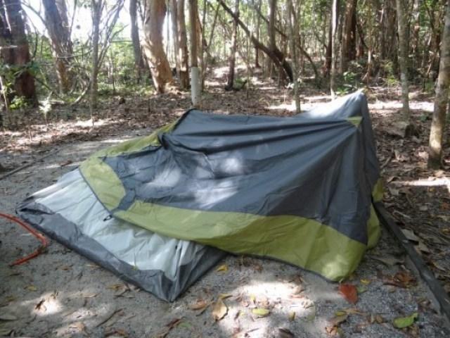 Australie- Cap Tribulation: La tente!!!!!! Sympa non???