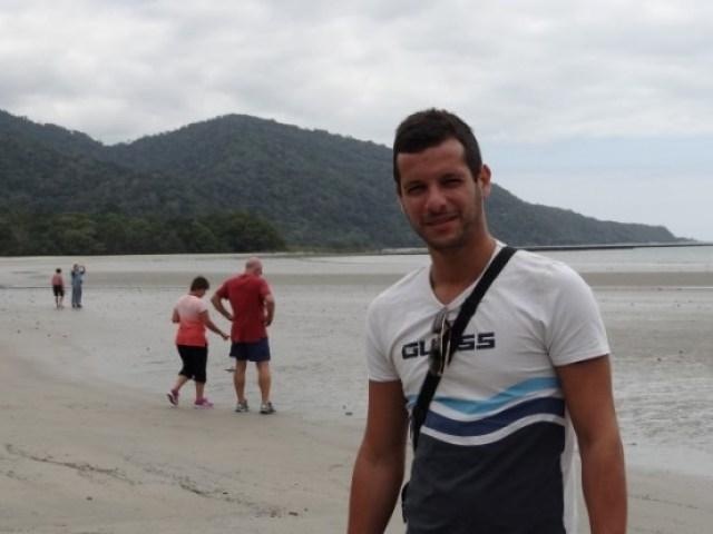 Australie- Cap Tribulation: J'avais promis à la maman d'Alex, quelques photos....voici donc le petit (euh quand meme plus grand que moi...)