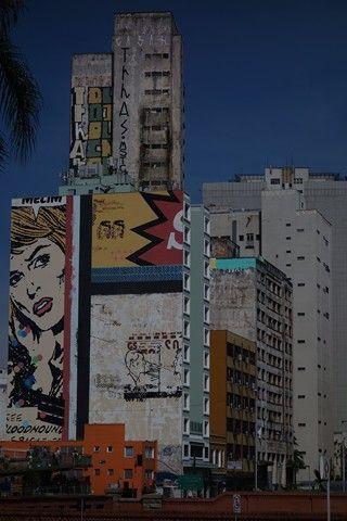 Bresil- Sao Paulo: Sympa la deco.